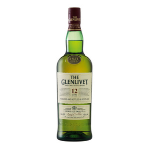 Glenlivet 12 YO Single Malt Whisky 750ml