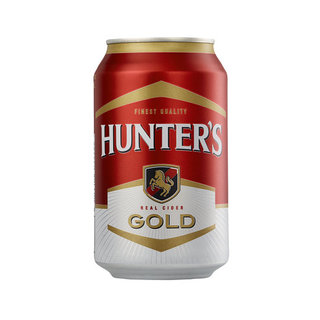 Hunters Gold Can 330ml x 6