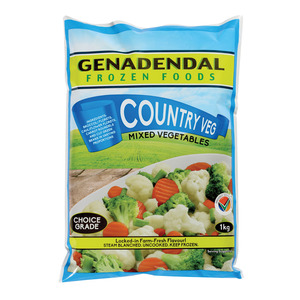 Genadendal Country Vegetables 1kg