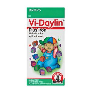 Vi-daylin Plus Iron Multivitamin Drops 30ml
