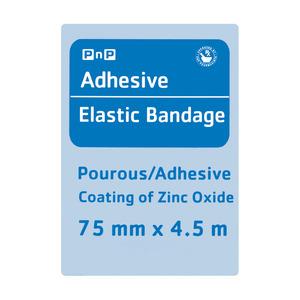 PnP Elastic Adhesive Bandage 75mm