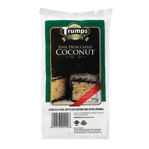Trumps Fine Dessicated Coconut 200g