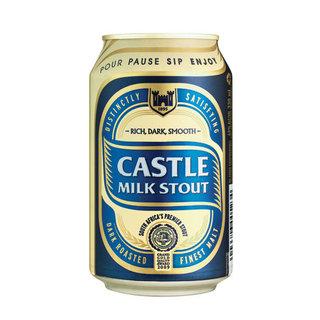 Castle Milk Stout Can 330 ml x 6