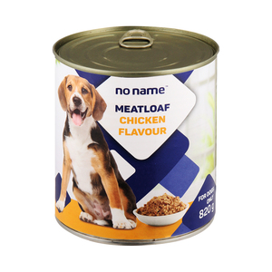 PnP No Name Meatloaf Dog Food Chicken Flavour 820g