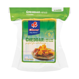 Clover Natural Cheddar Portions 300g
