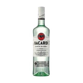 Bacardi Carta Blanca Rum 750ml x 12