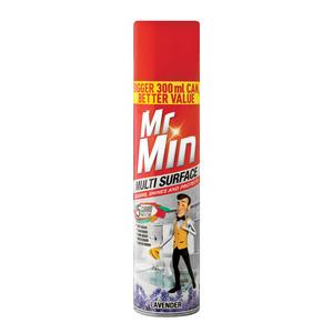 Mr Min Multi Surface Pol Lavender 300ml