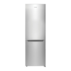 Hisense 299 Litre Gross Capacity Fridge With Bottom Freezer Metallic