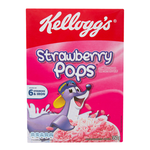 Kellogg's Strawberry Pops 350g