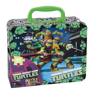 Turtles 24pc Puzzle In Lunch Box