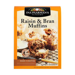 Ina Paarman's Raisin And Bran Muffin Mix 700g