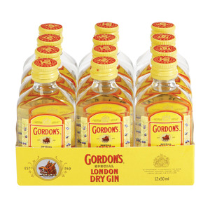 Gordon's Gin 50 ml x 12