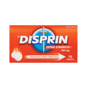 Disprin Pain Tablets Extra Strebgth 16ea