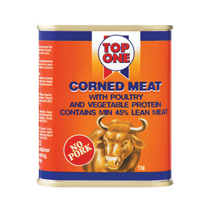 Top One Corned Meat With Poultry 300g