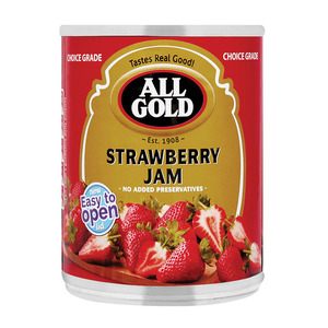 All Gold Strawberry Jam 450g