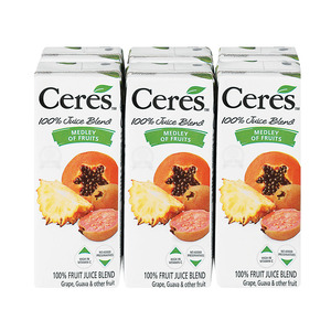 Ceres Medley of Fruits Juice 200ml x 6