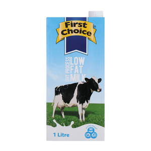 First Choice Long Life 2% Low Fat Milk 1l x 12