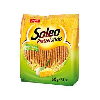 Soleo Pretzel Sticks Cheese 200g
