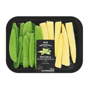 Pnp Mini Corn Mange Tout 125g