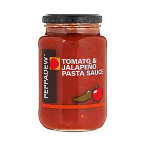 Peppadew Tomato & Jalapeno Chilli Sau ce 400g
