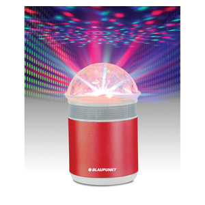 Blaupunkt Bluetooth Speaker With Light  Red