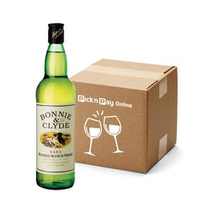 Bonnie & Clyde Scotch Whisky 750ml  x 12