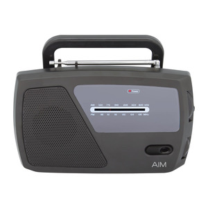 Aim Portable Am/Fm Radio