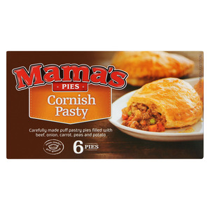 Mama's Frozen Cornish Pastries 6ea