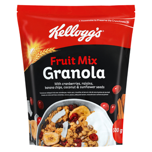 Kellogg's Granola Cereal Fruit 500 Gr