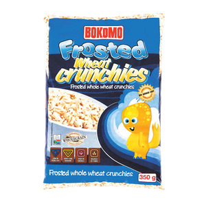 Bokomo Frosted Wheat Crunchies 350g