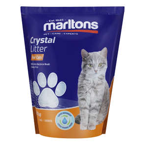 Marltons Cat Litter Crystals 1.8kg x 8
