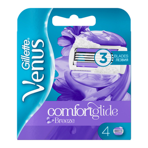 Gillette Venus Breeze Blades 4ea