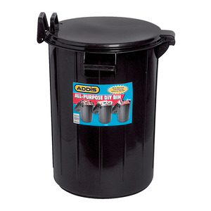 Addis 91260 Lock Top Bin Ass orted