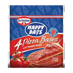 Ital Happy Days Pizza Bases 4ea