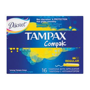 Tampax Compak Tampons Regular 16ea