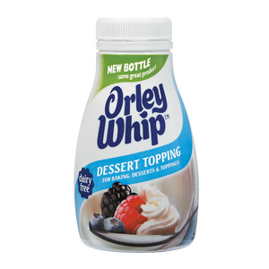 Orley Whip Dairy Free Dessert Topping 250ml