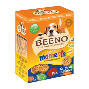 Beeno Crunchy Dog Biscuit Treats 1kg