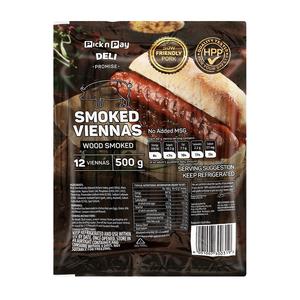 Pnp Smoked Viennas 500g