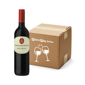 Robertson Winery Ruby Cabernet 750ml  x 12