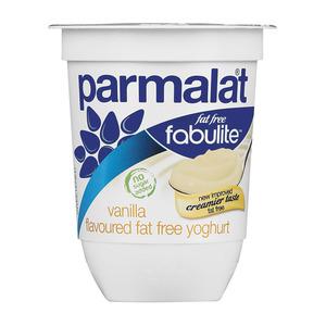 Fabulite Smooth Fat Free Vanilla Yoghurt 175g