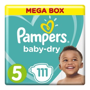 Pampers Active Baby Mega Pack Junior Size 5 111ea