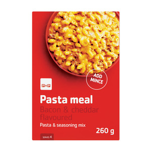 PnP Mince Pasta Meal Cheese And Bacon 260g