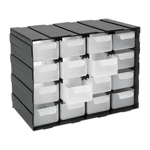 Perma 16 Drawer Utility Box