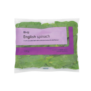 PnP English Spinach Mini Pack 100g