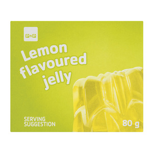PnP Lemon Flavoured Jelly 80g
