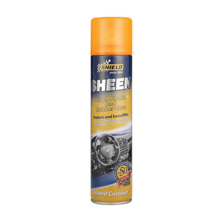 Shield Sheen Vinyl And Rubber Coconut 300ml