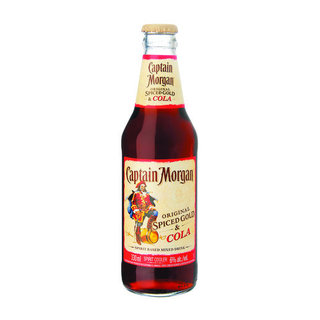 Capt Morgan Spiced Gold & Cola 330 ml  x 4