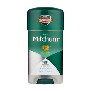 Mitchum Unscented Clear Gel Antiperspirant Deodorant 63g