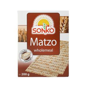 Sonko Matzo Wholemeal 200g