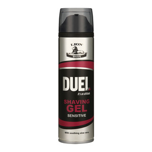 Duel Sensitive Skin Shaving Gel 200ml